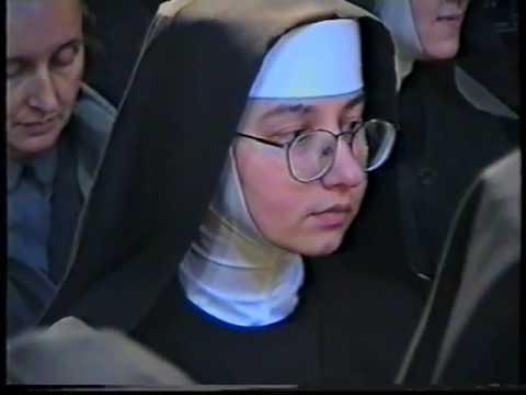 Poświęcenie Klasztoru sióstr klarysek w Skaryszewie 1997 cz 1