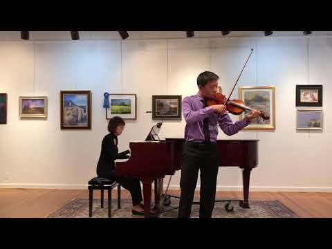 Stephen Cheng voilin recital 04152018 Sarasate Gypsy Airs
