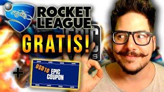 ROCKET🚗LEAGUE⚽GRATIS🚐! + EPIC CUPON de 10 U$D en EPIC GAMES STORE!