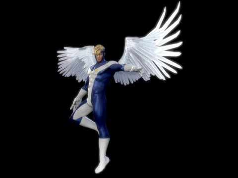 DCUO: How to create Angel from Marvel Comics