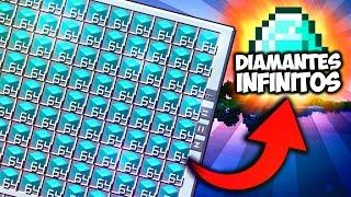 fabricando diamantes infinitos   minecraft serie de mods survimods apixelados ep 29