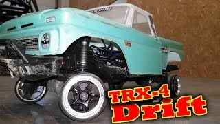 Video Drifting Traxxas TRX-4 6s Brushless!! RC Rock Crawler download MP3, 3GP, MP4, WEBM, AVI, FLV Juli 2018