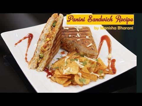 Panini Sandwich Recipe Quick Easy Best Vegetarian Italian Party Idea
