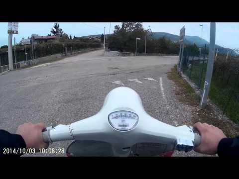 Test Vespa Super 177 Pinasco