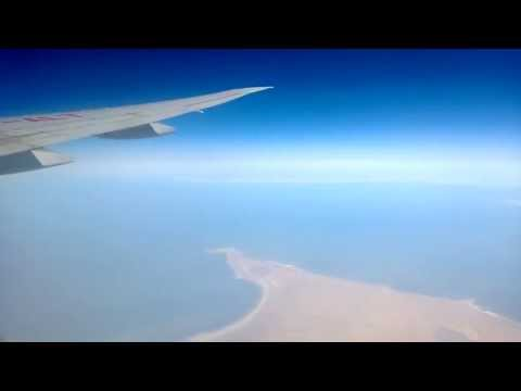 Caspian Sea from Above