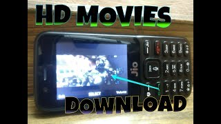 How to Download full HD movies in jio phone😱😎/// Jio phones latest tricks