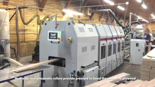 Engineered Flooring Press Line