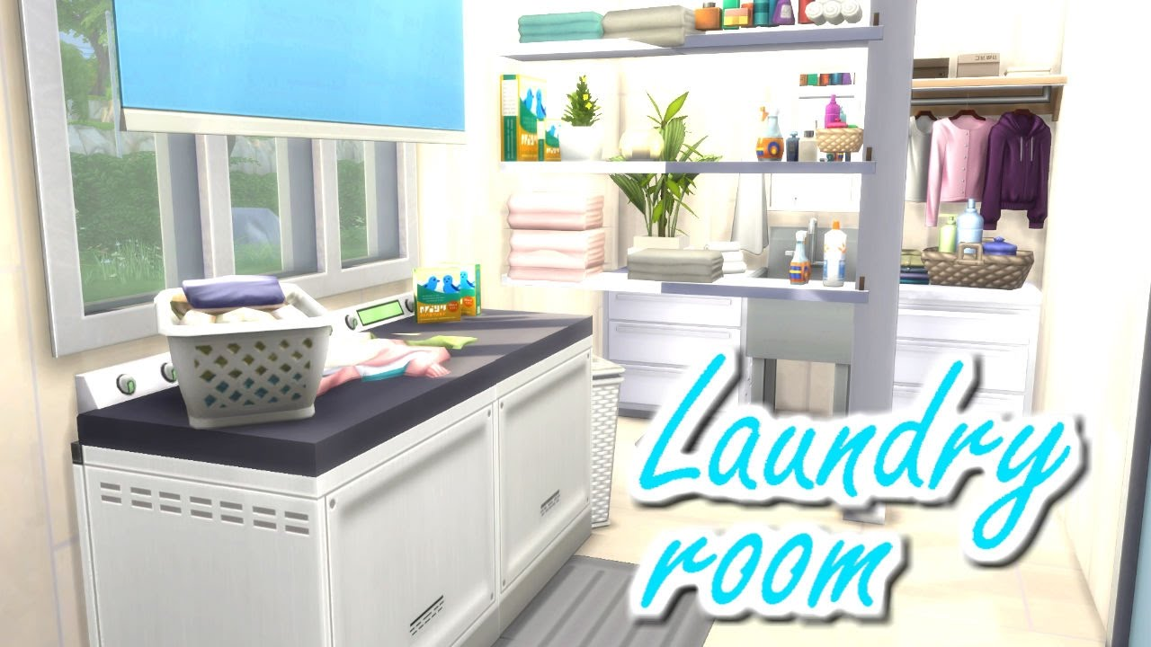 Sims  Laundry Room