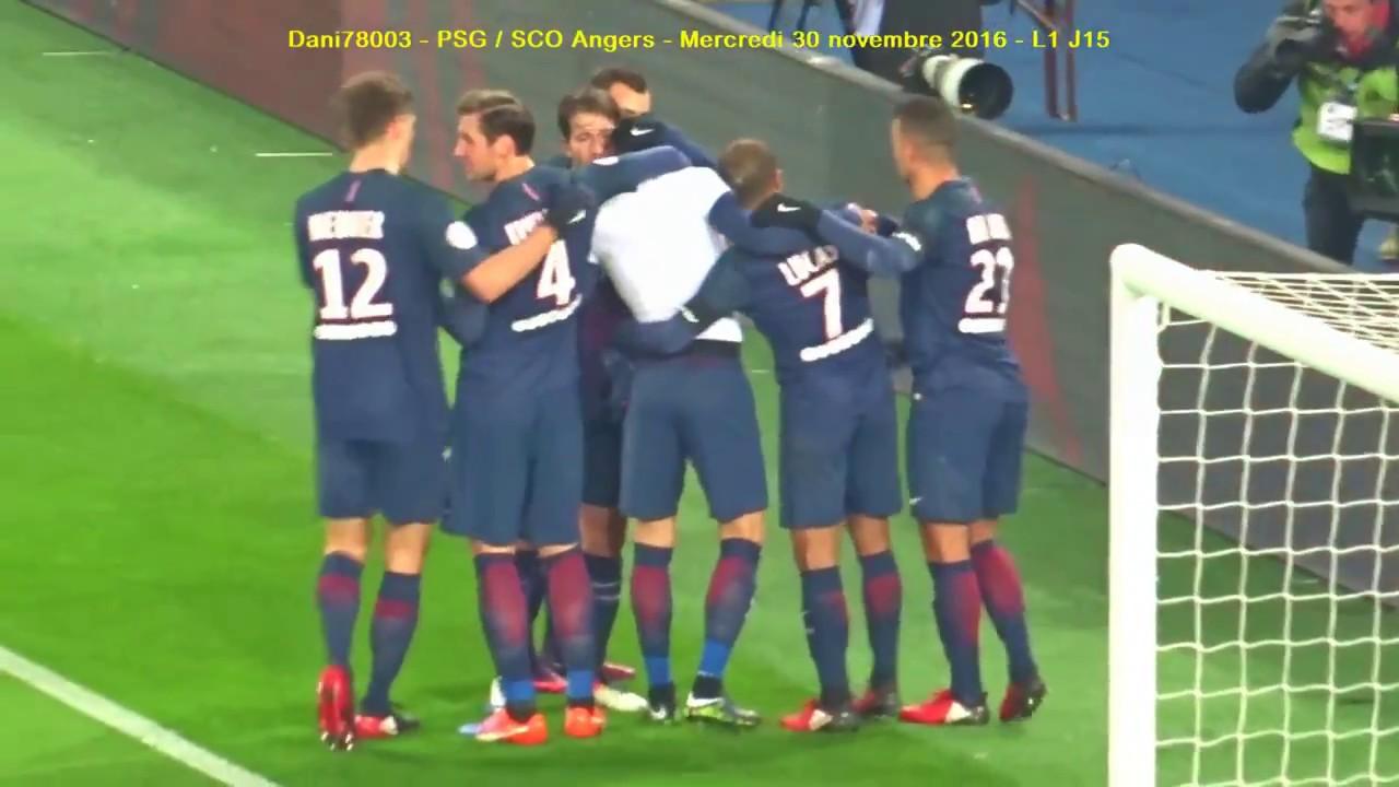 PSG / Angers 30.11.2016 : 2-0 (L1 J15) 5/5 : Les buts du ...