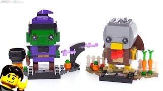 LEGO BrickHeadz Witch & Turkey reviewed! 40272 40273