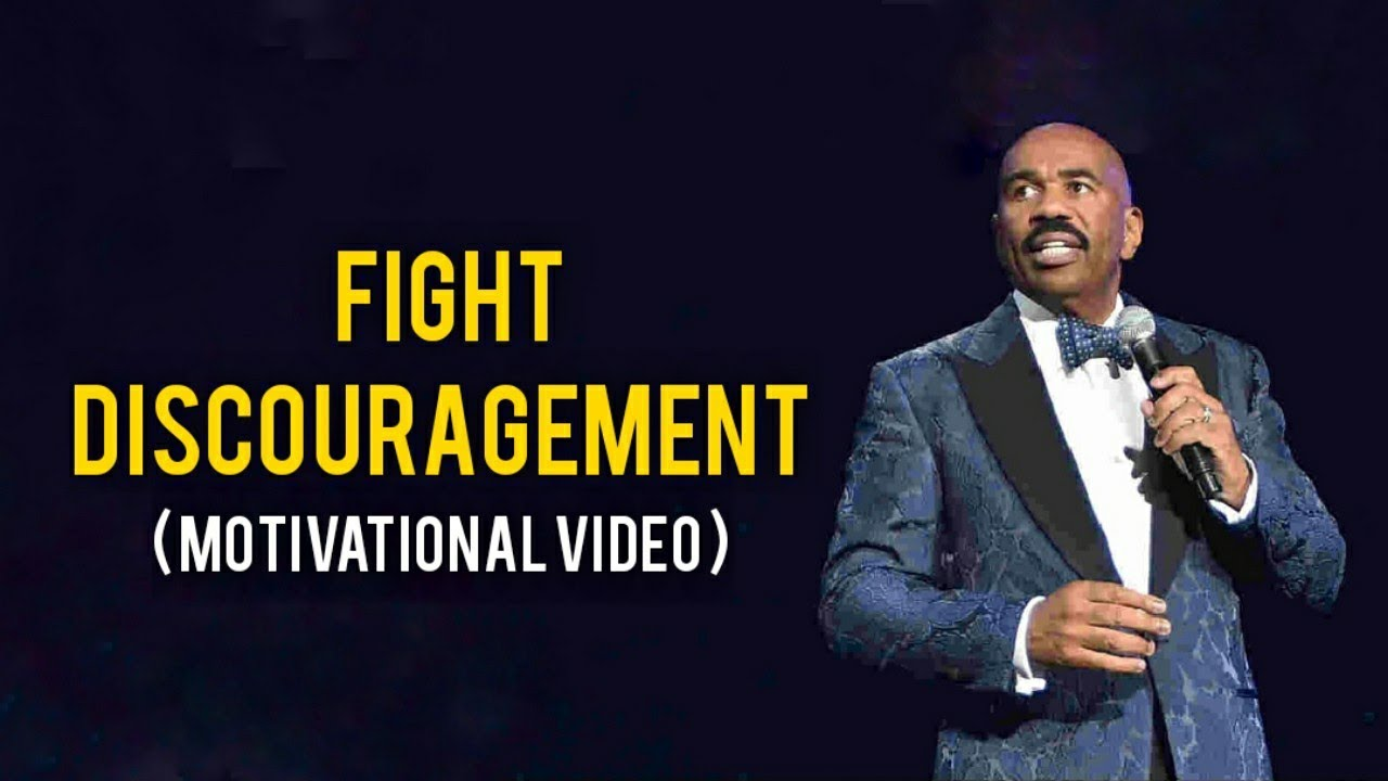 Download Don't Get Discouraged | Fight Discouragement By Steve Harvey Motivational Video