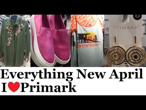Everything New at Primark (Spring Fashion) | April 2017 | I❤Primark