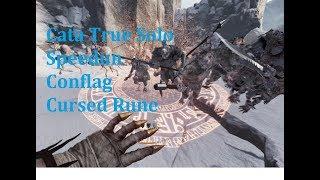 Cata True Solo - Speedrun -  Cursed Rune (Conflag/Sword)