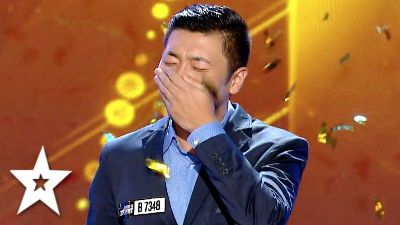 Fang Shuang's GOLDEN BUZZER Audition!   Auditions Week 3   Românii au talent