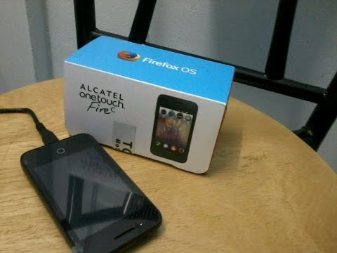 Alcatel Onetouch FireC  Unboxing