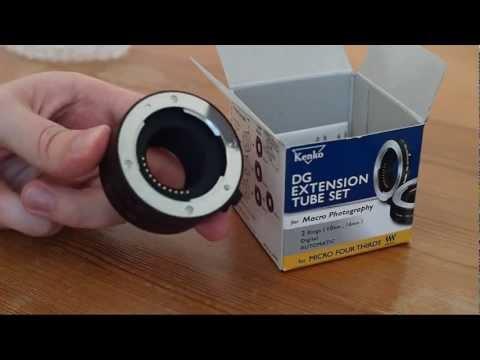 Kenko DG Extension Tube Set for Micro Four Thirds