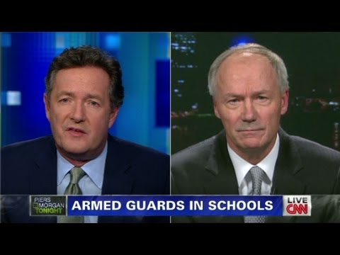 Asa Hutchinson on guns and schools
