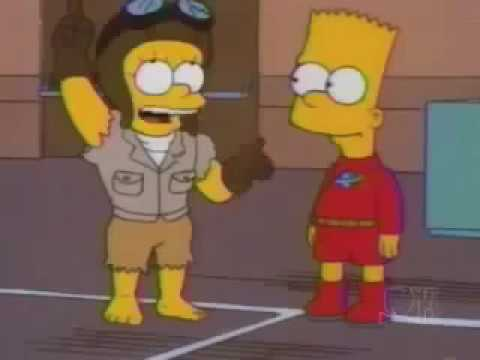 The Simpsons Stretch Dude and Clobber Girl theme