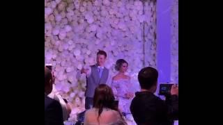 Алла Пугачева поздравляет невесту