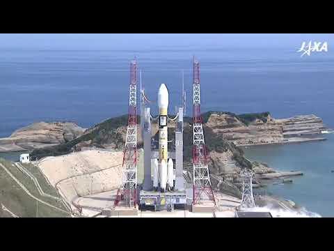 JAXA H-IIA Michibiki 3 launch full Video