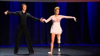 Bailarina Adrianne Haslet-Davis con pierna biónica en TED.