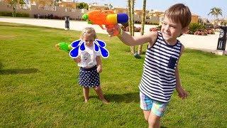 Mai repede  Anabella! E PERICULOS ! Video for kids | Anabella Show