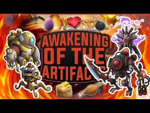 Monster Legends | Awakening of the Artifacts Progressive Island | Tutorial