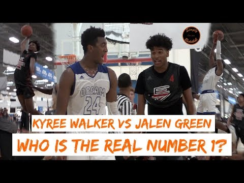 IN DEPTH BREAKDOWN: Kyree Walker vs Jalen Green  WHO IS THE REAL 1 PLAYER IN THE COUNTRY !?