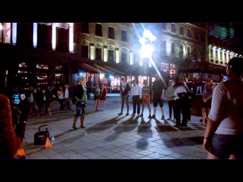 [May-6-2015] Summer Night Street Show in Old Montreal.