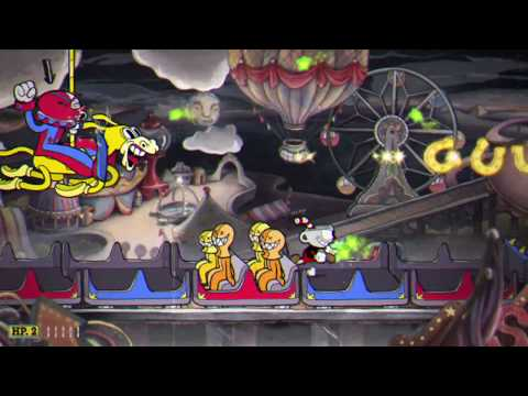 Cuphead  - Beppi the Clown on REGULAR [ACT 2 BOSS]  (XBox One/PC)