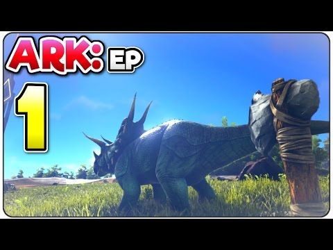 Ark: Survival Evolved PS4 Episode 1 - A New Beginning - (Dinosaur Legends) Console Edition Gameplay