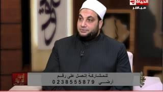 بالفيديو.. مذيعة الحياة تبكي على الهواء فور حديثها عن الأم