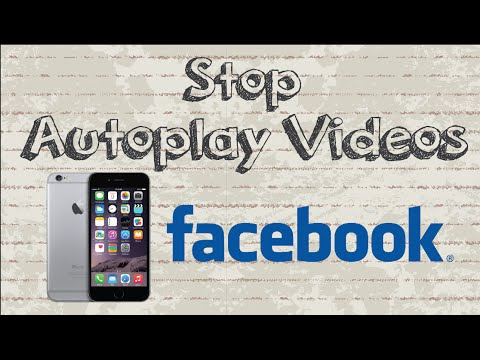 How to stop autoplay videos on Facebook | Mobile App (Android & Iphone)