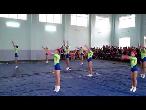 Nhảy AEROBIC Trường TH Thị trấn Lam Sơn, Thọ Xuân.