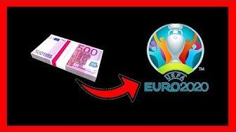 Ich wette 5.000€ auf den Gewinner der EM 2020 😱💰⚽💸