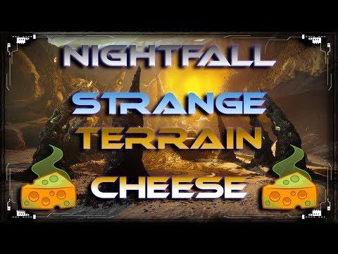 Destiny 2 Strange Terrain NIGHTFALL Glitch / Cheese / Exploit | EASY Prestige Rewards