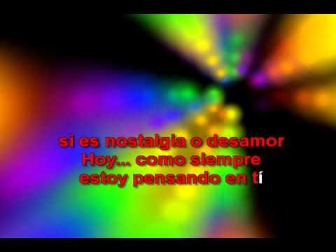 Cosas De La Vida (con Letra) - Eros Ramazzotti Karaoke
