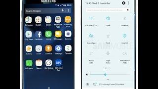 50 لقطة شاشة تستعرض واجهة 'أندرويد نوجا' على جالاكسي S7.. فيديو