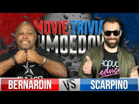 Movie Trivia Schmoedown  Marc Bernardin Vs. Nick Scarpino