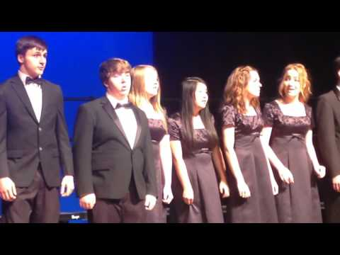 "Washougal High School Holiday Concert X-TET ""Good King Kong"""