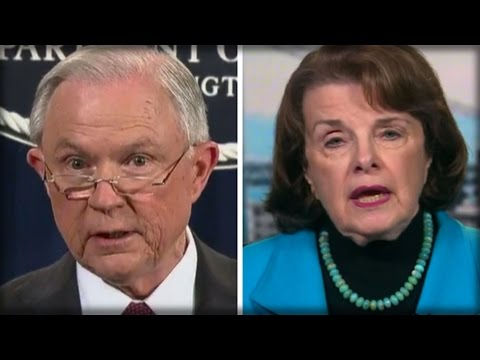 SEN. FEINSTEIN TRIED SLAMMING SESSIONS FOR ENFORCING THE LAW - GETS TAUGHT BRUTAL LESSON INSTEAD