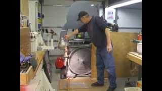 Bandsaw Tire Crowning Method