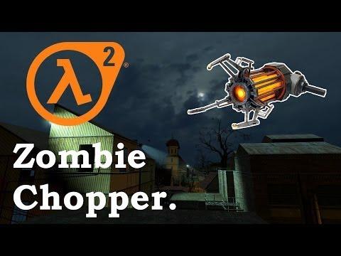 Half-Life 2: Zombie Chopper Achievement - Hard Difficulty
