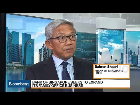 Bank of Singapore CEO Says Priority Is to Grow Organically