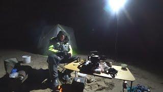 ОДИН НА РЕКЕ рыбалка с ночёвкой Разведка налима на р Печора