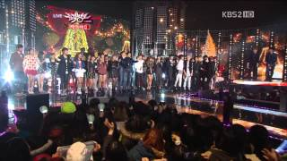 ?1080P?All Artist (TVXQ,f(x),SHINee,BEAST..) - All I Want For Christmas Is You (21 Dec,2012) MP3