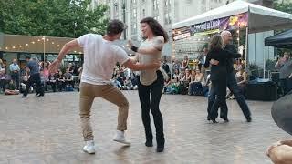 Seattle individual demos WCS at dance-till-dusk 2017