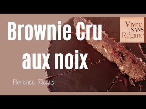 """vidéo-de-la-recette-du-brownies-cru-aux-noix-""""-raw---vegan---sans-gluten---zéro-déchets-"""""""