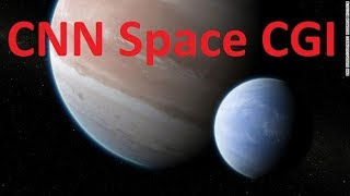 CNN Space CGI - Space Science Cartoons