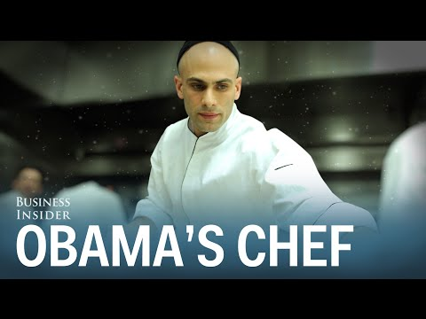 Sam Kass tells us what it was like working as President Obama's personal chef